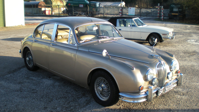 Modified Mk2 Jaguar